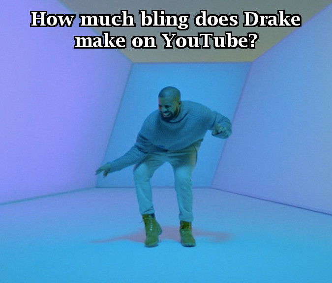 How Much Bling Does Drake Make?